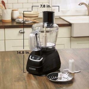 Black and Decker Food Processor 8 Cup FP1600B