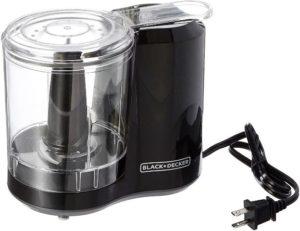 Black Decker 3-Cup Electric Food Chopper HC300B